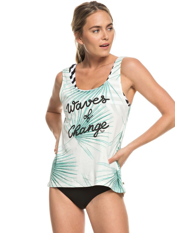 0 POP Surf C - Vest Top for Women White ERJZT04511 Roxy