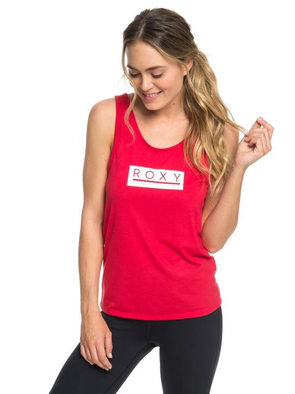0 Shades Of Cool B - Débardeur de yoga pour Femme Rose ERJZT04536 Roxy