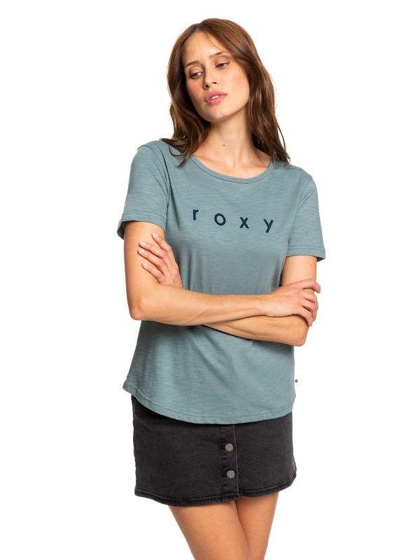 0 Red Sunset - T-shirt pour Femme Bleu ERJZT04628 Roxy
