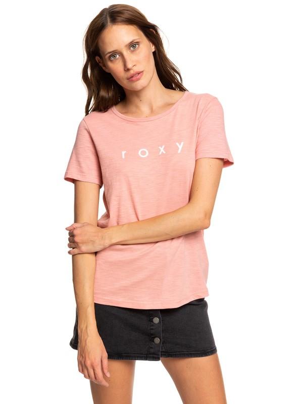 0 Red Sunset - T-shirt pour Femme Rose ERJZT04628 Roxy