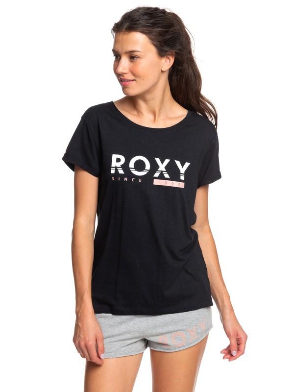 0 Tell Me Baby - T-shirt pour Femme Noir ERJZT04687 Roxy