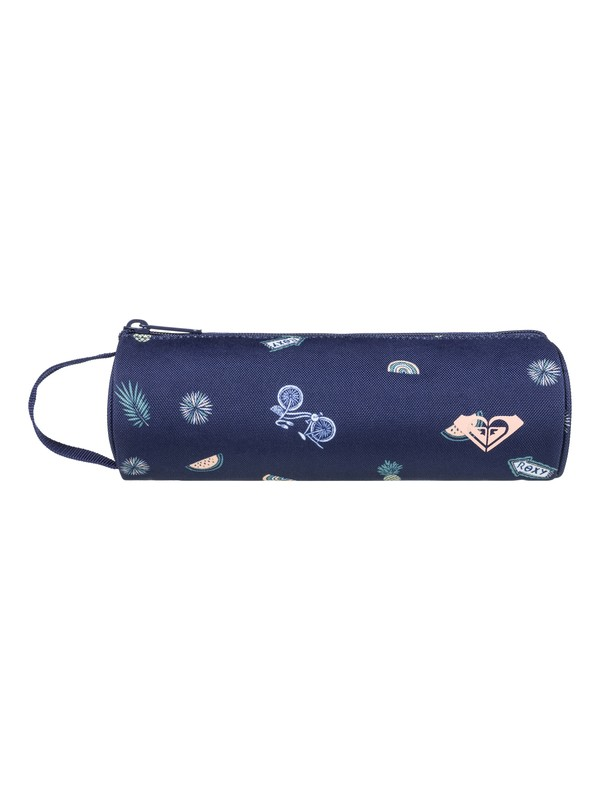 0 Off The Wall - Pencil Case Blue ERLAA03017 Roxy