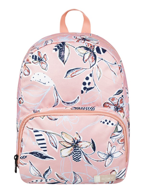 0 Girl's 2-6 All The Colors 8 L Extra Small Backpack Pink ERLBP03030 Roxy