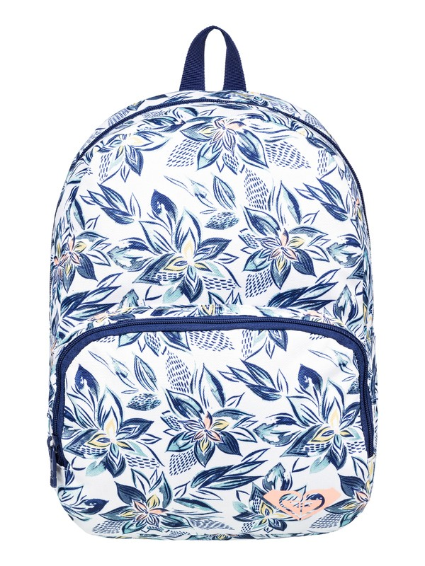 0 All The Colors 8L - Kleiner Rucksack Weiss ERLBP03036 Roxy