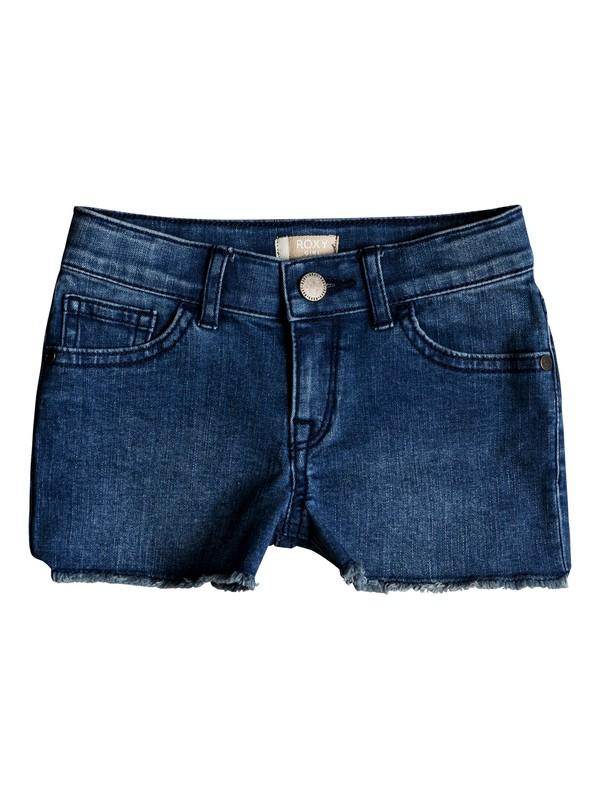 0 Niñas 2-6 Shorts de Mezclilla Light Hearted Azul ERLDS03032 Roxy