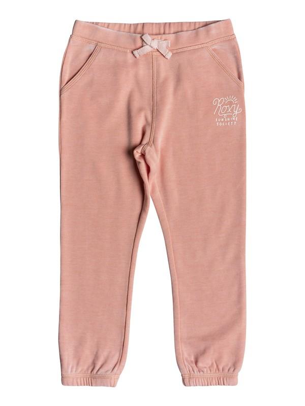 0 Girl's 2-6 Wonderful Days Sunshine Slim Fit Joggers Pink ERLFB03055 Roxy