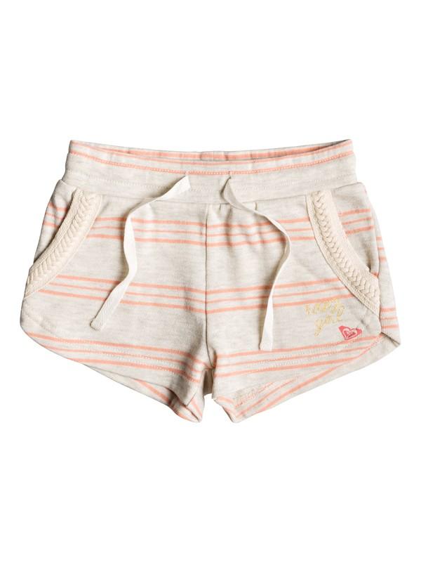 0 Girl's 2-6 Mystery Sun Sweat Shorts Beige ERLFB03058 Roxy