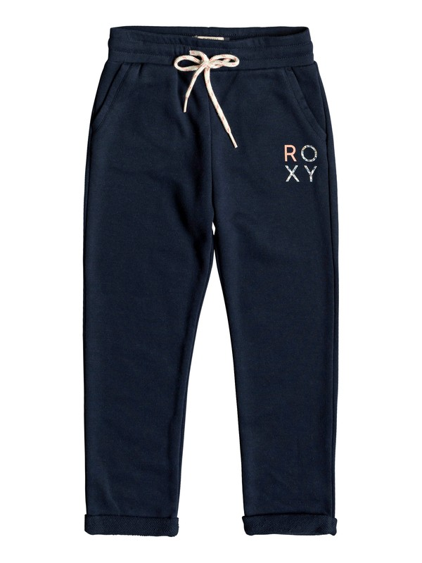 0 Girl's 2-6 Let Her Song B Joggers Blue ERLFB03063 Roxy