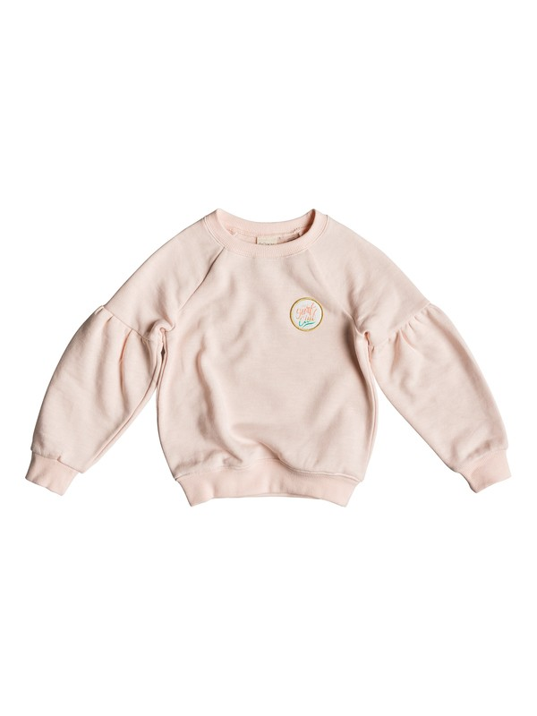 0 How I Do - Sweat pour Fille 2-7 ans Rose ERLFT03175 Roxy