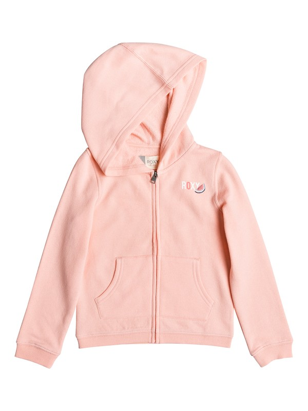 0 Girl's 2-6 Mirror Lake B Zip-Up Hoodie Pink ERLFT03188 Roxy