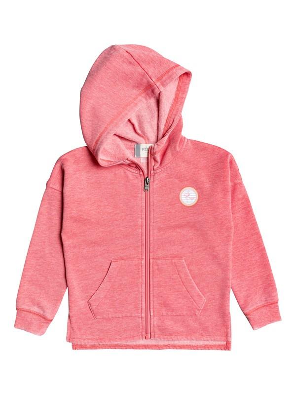 0 Girl's 2-6 Magic Wind A Zip-Up Hoodie Pink ERLFT03189 Roxy