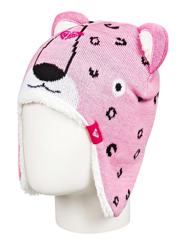 0 Leopard Earflap Animal Beanie Pink ERLHA03062 Roxy