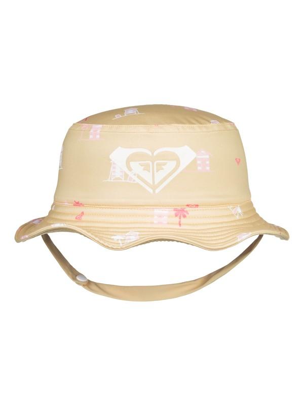 0 Girl's 2-6 Bobby Bucket Hat Yellow ERLHA03064 Roxy