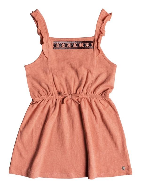 0 Girl's 2-6 Share My Dreams Tank Jersey Dress Pink ERLKD03051 Roxy