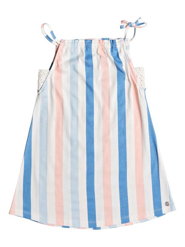 0 Girl's 2-6 Wake Up Calm Strappy Dress White ERLKD03066 Roxy
