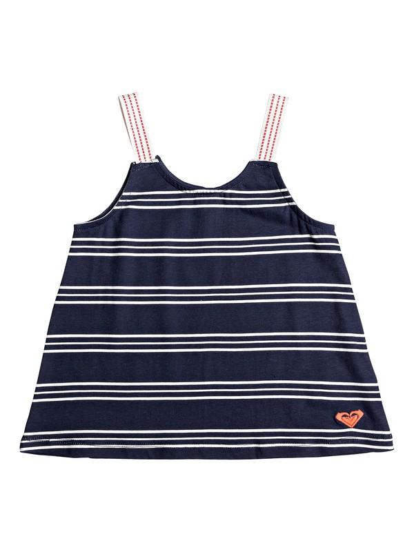0 Paper Stars - Vest Top for Girls 2-7 Blue ERLKT03065 Roxy