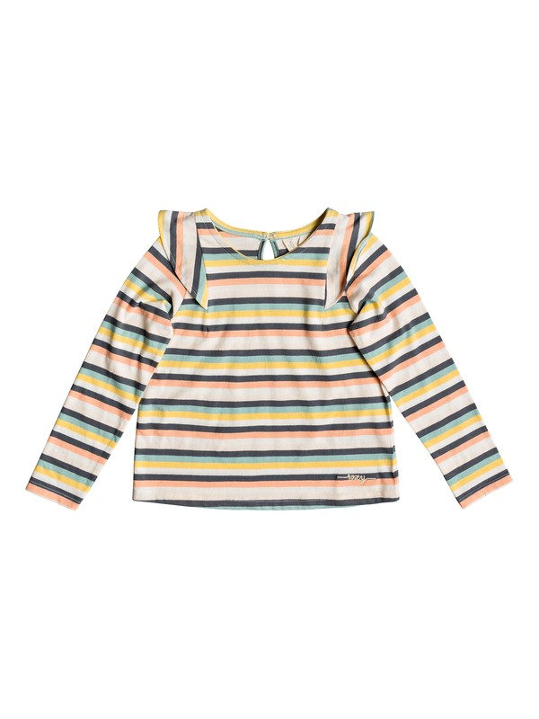 0 Girl's 2-6 Holy Words Long Sleeve Top Pink ERLKT03068 Roxy
