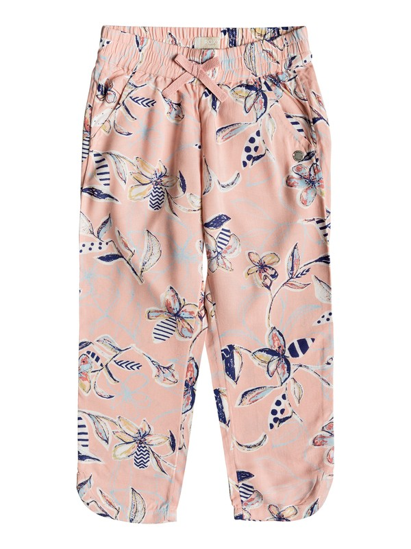0 Girl's 2-6 Believer Beach Pants Pink ERLNP03028 Roxy