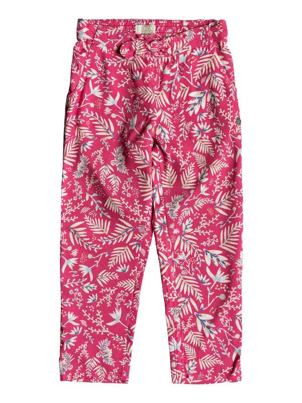 0 Girl's 2-6 Real Peach Beach Pants Pink ERLNP03031 Roxy