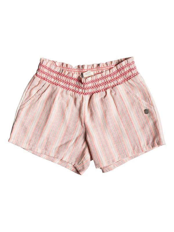 0 Girl's 2-6 Girly Moment Beach Shorts Pink ERLNS03026 Roxy