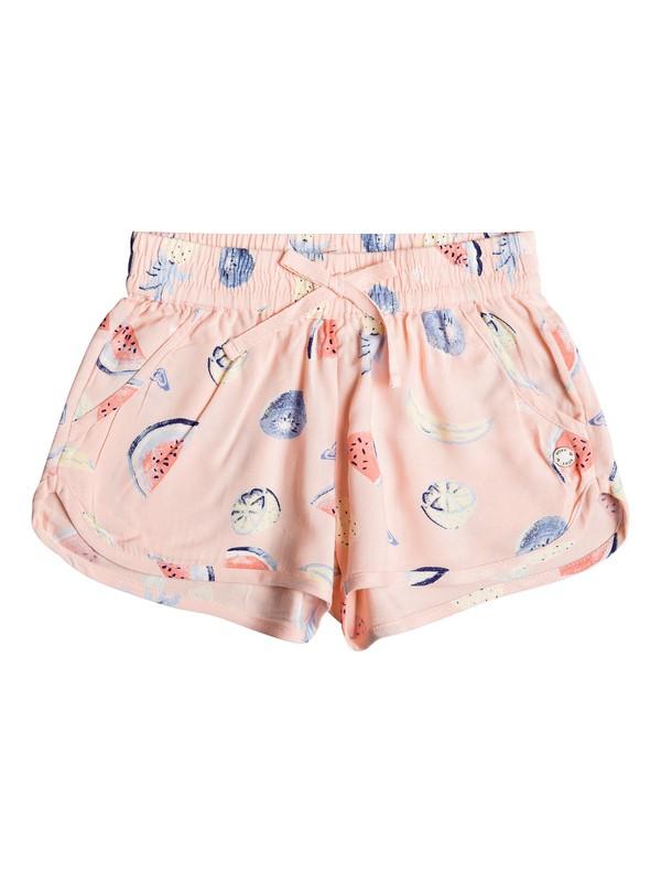0 Girl's 2-6 Sunny Sunny Beach Shorts Pink ERLNS03029 Roxy