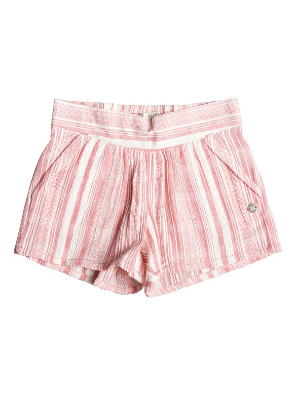 0 Girl's 2-6 Good Fruit Shorts Pink ERLNS03030 Roxy