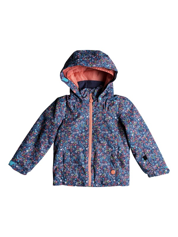 0 Girl's 2-6 Mini Jetty Snow Jacket Blue ERLTJ03009 Roxy