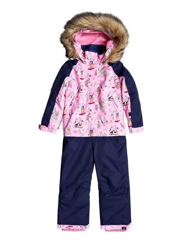 0 Paradise Snowsuit Pink ERLTS03005 Roxy