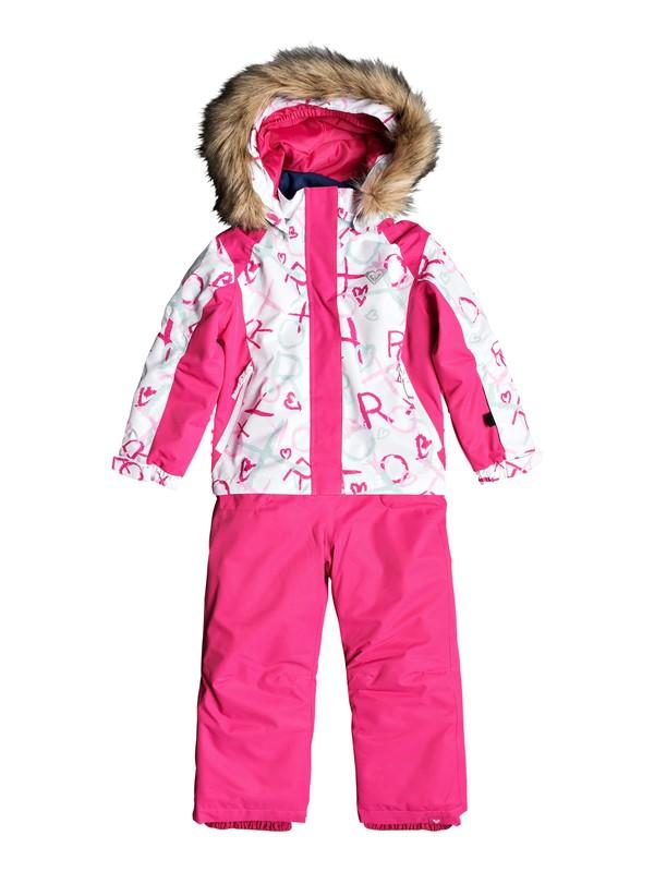 0 Paradise Snowsuit White ERLTS03005 Roxy