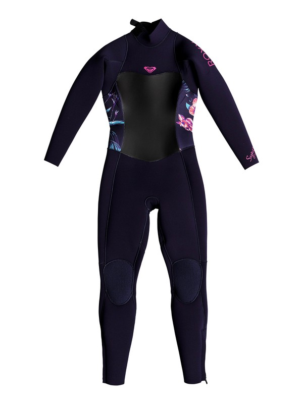 0 Girl's 2-6 3/2mm Syncro Series Back Zip GBS Wetsuit Blue ERLW103001 Roxy