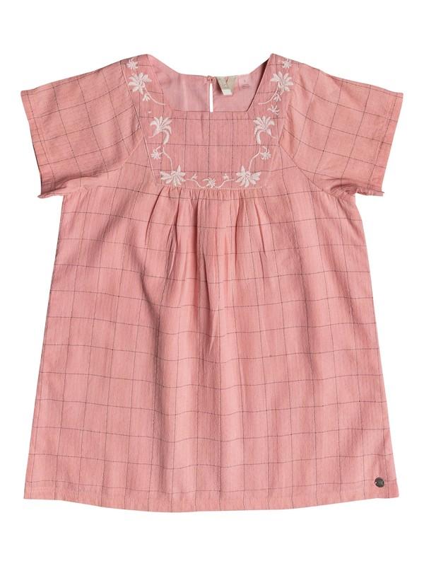 0 Girl's 2-6 Precious Butterfly Short Sleeve Dress Pink ERLWD03045 Roxy