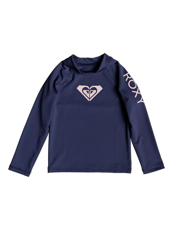 0 Whole Hearted - Lycra manches longues UPF50 pour Fille 2-7 ans Bleu ERLWR03075 Roxy