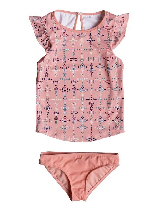 0 Girl's 2-6 Boho Tankini Set  ERLX203050 Roxy