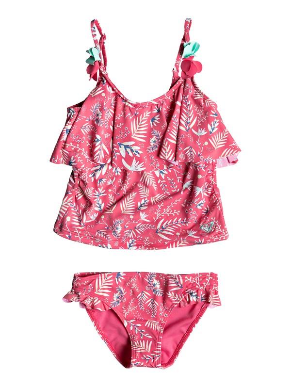 0 Girl's 2-6 Bali Dance Tankini Set Pink ERLX203069 Roxy