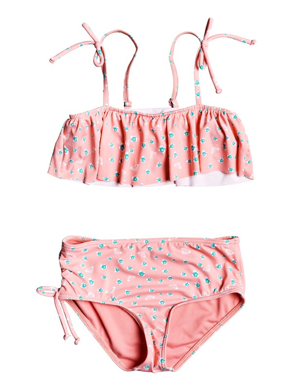 0 Splash Party Flutter Bikini Set Pink ERLX203085 Roxy