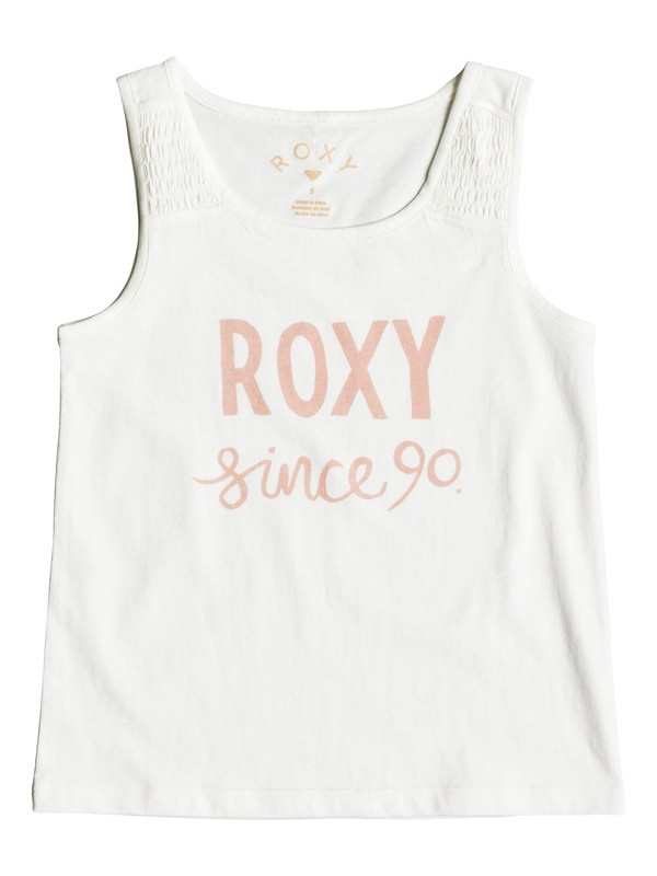 0 Girl's 2-6 Wayfaring Stranger Sketch Day Tank Top White ERLZT03140 Roxy