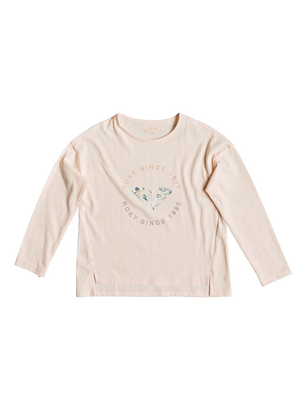 0 Girl's 2-6 Shape And Shadow A Long Sleeve Tee Pink ERLZT03203 Roxy