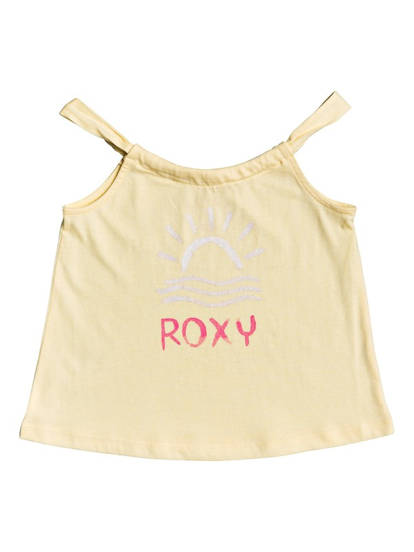 0 Girl's 2-6 Fall Day A Tank Top Yellow ERLZT03206 Roxy