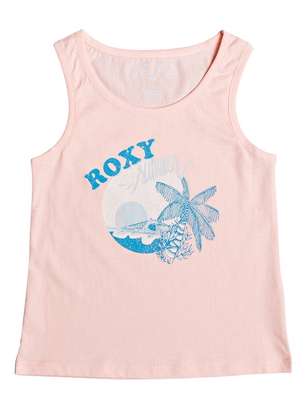 0 Girl's 2-6 Into The Sea C Tank Top Pink ERLZT03212 Roxy