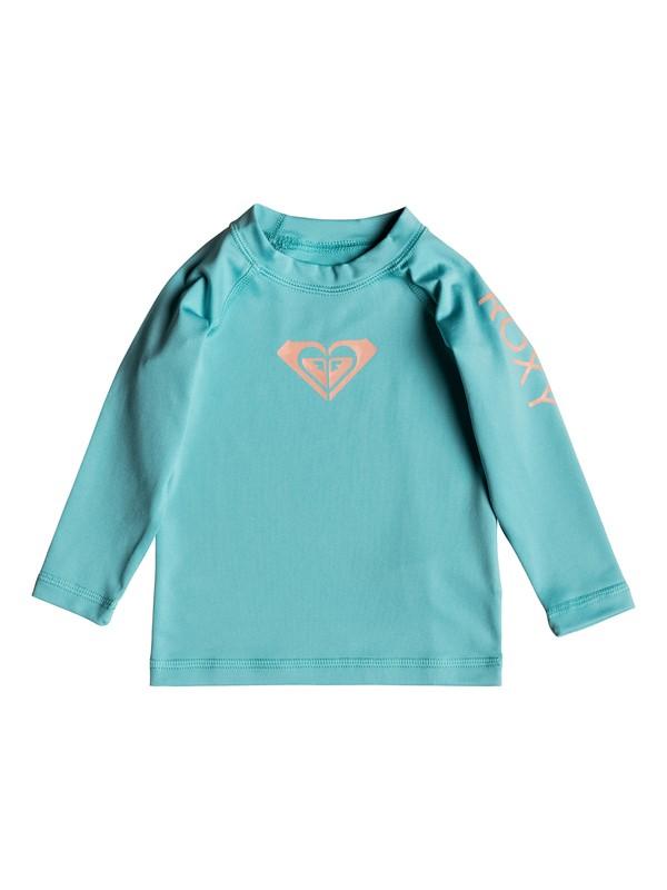 0 Baby Whole Hearted Long Sleeve UPF 50 Rashguard  ERNWR03012 Roxy