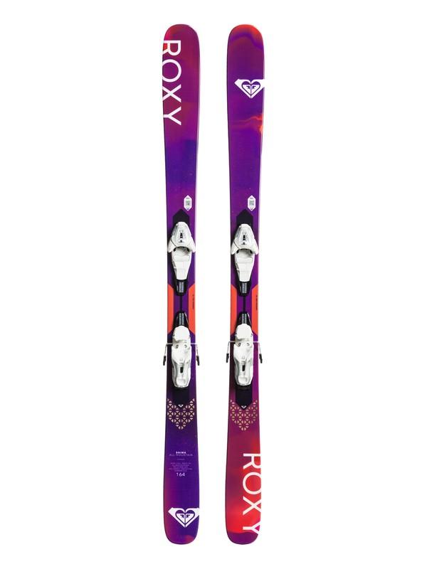 0 Shima All-Mountain Skis Purple FFHMAM10Z Roxy