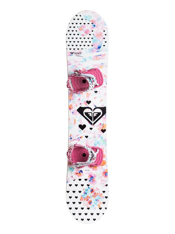 0 Girls Poppy Snowboard and Binding Package  LE6231705 Roxy