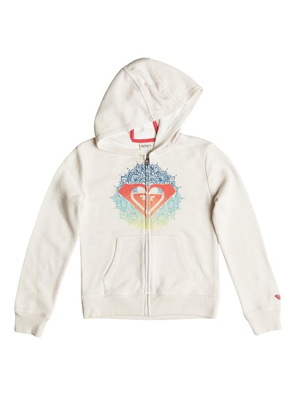 0 Baby Henna Logo Zip-Up Hoodie  PGRS62191 Roxy