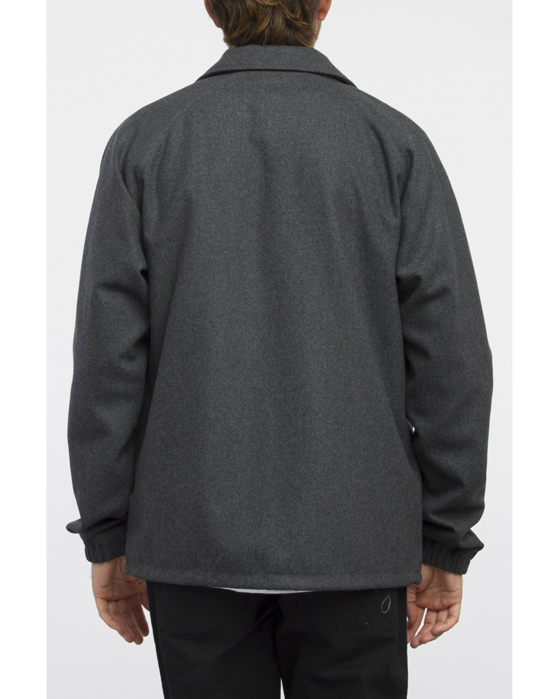 3 WRENCHMAN COACHES JACKET Gris A1JKRCRVW6 RVCA