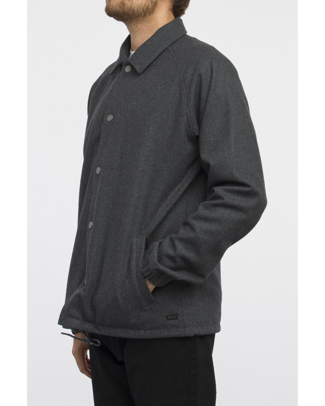 2 WRENCHMAN COACHES JACKET Gris A1JKRCRVW6 RVCA