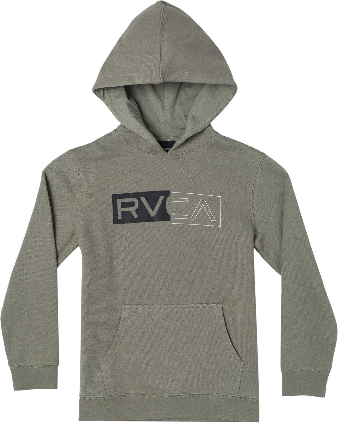 0 DIVIDED HOODIE Green AVBFT00101 RVCA
