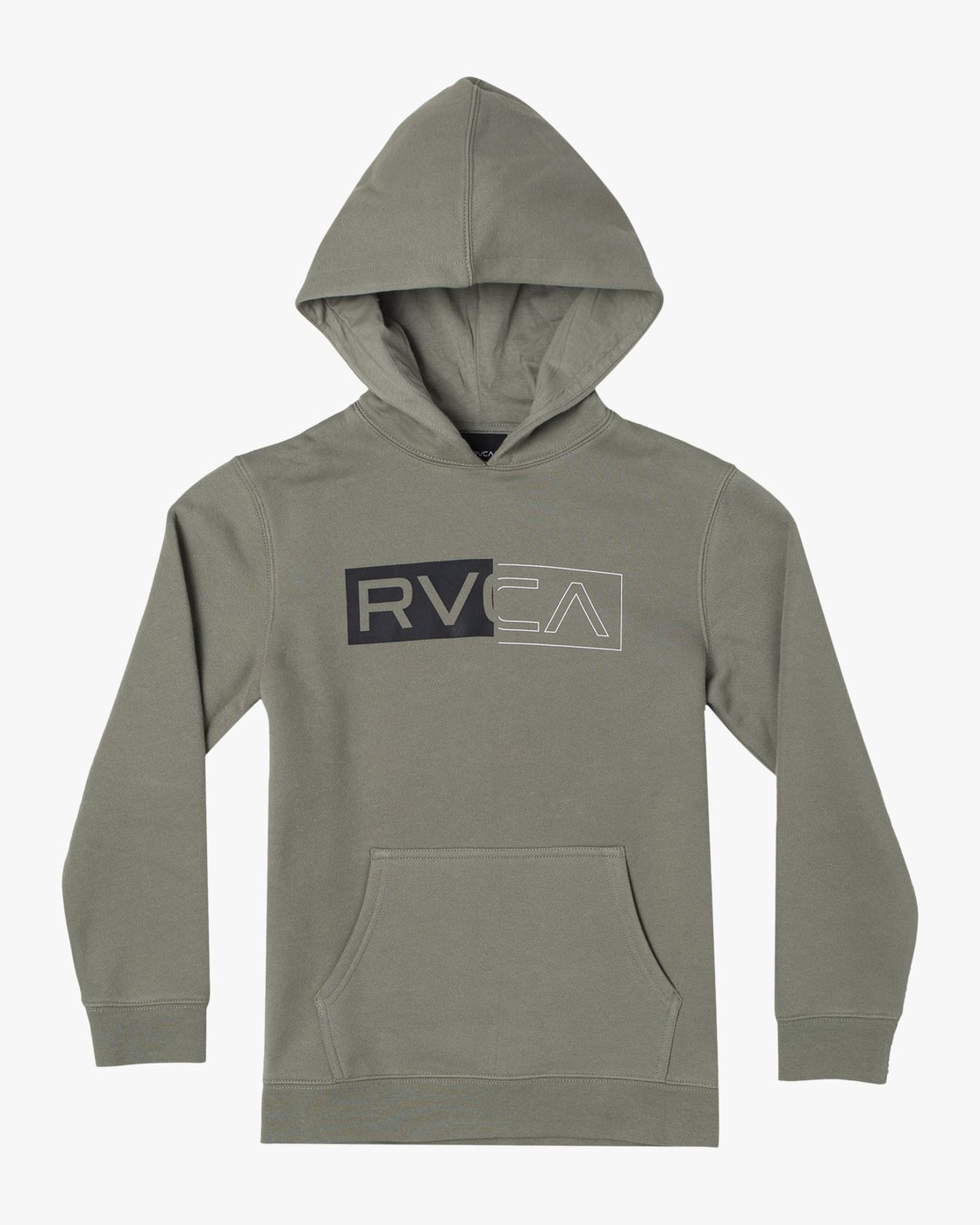 1 DIVIDED HOODIE Green AVBFT00101 RVCA