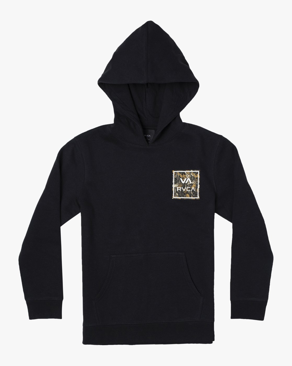 1 VA ALL THE WAY HOODIE Black AVBFT00103 RVCA