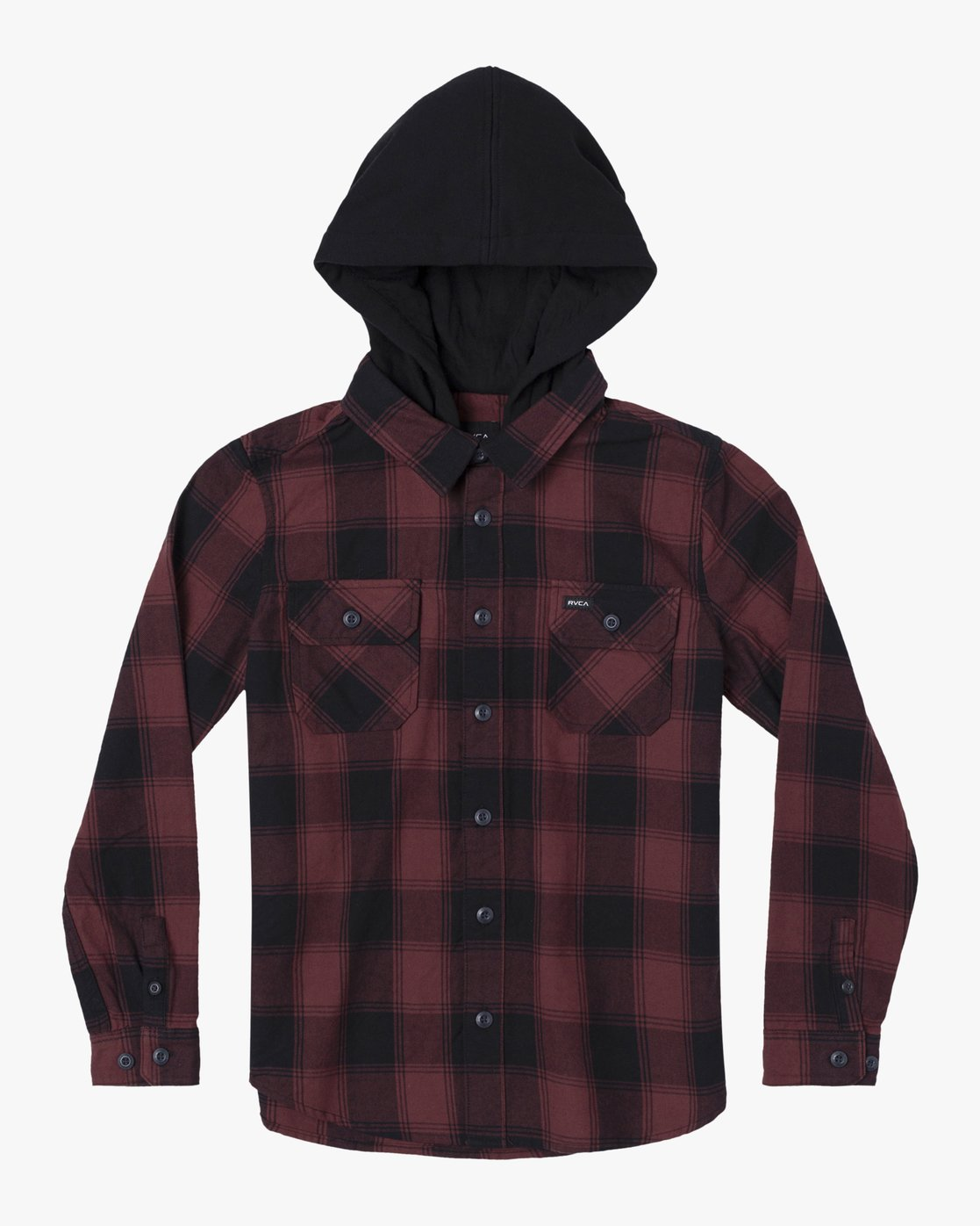 1 REPLACEMENT LONG SLEEVE FLANNEL Red AVBWT00105 RVCA