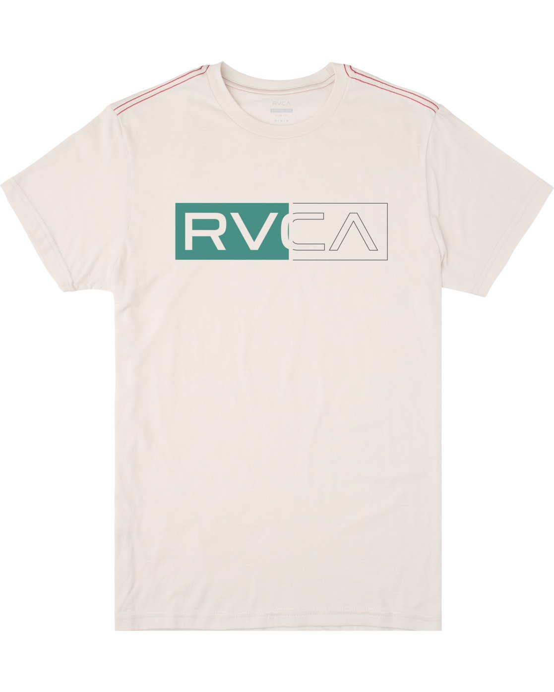 0 BOYS DIVIDER SHORT SLEEVE TEE White AVBZT00103 RVCA